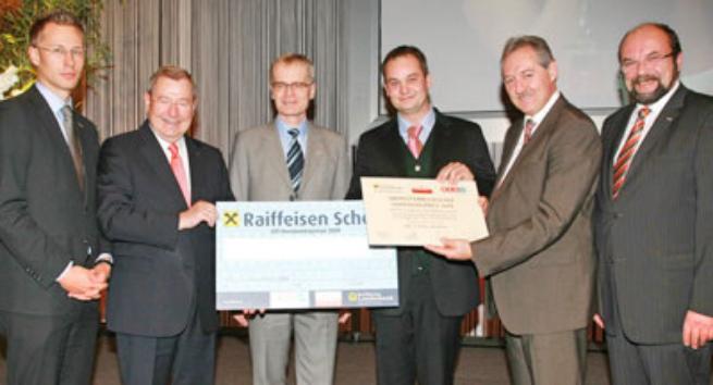 Urkunde - 1. Preis OÖ Handwerkspreis 2009