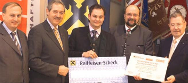 Dr. Rudolf Trauner, LR Viktor Sigl, Franz Langmayr